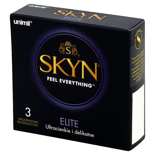 Unimil Skyn Elite Latex Free Condoms 3 Pieces