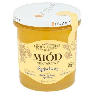 Huzar Miody polskie Rapeseed Nectar Honey 400 g