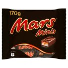 Mars Minis Nougat Bars with Caramel Covered with Milk Chocolate 170 g