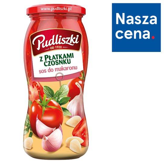 Pudliszki Tomato Sauce with Garlic Flakes 500 g