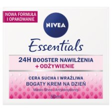 image 1 of NIVEA Essentials Dry and Sensitive Skin Rich Day Cream 50 ml
