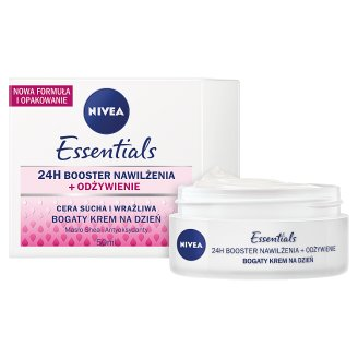 image 2 of NIVEA Essentials Dry and Sensitive Skin Rich Day Cream 50 ml