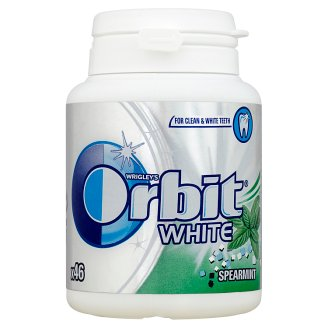 Orbit White Spearmint Guma do żucia bez cukru 64 g (46 drażetek)