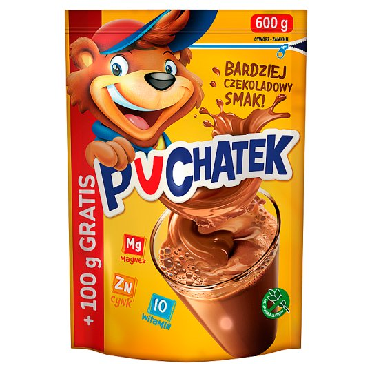 Puchatek Instant Cocoa Drink 600 g