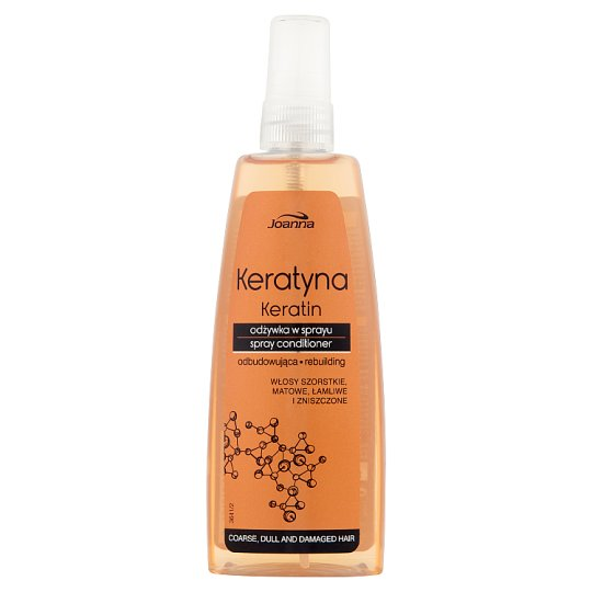 Joanna Keratin Spray Conditioner for Coarse Dull and Damaged Hair 150 ml
