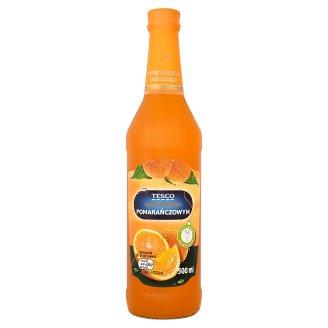 Tesco Orange Flavoured Fruit Syrup 500 ml