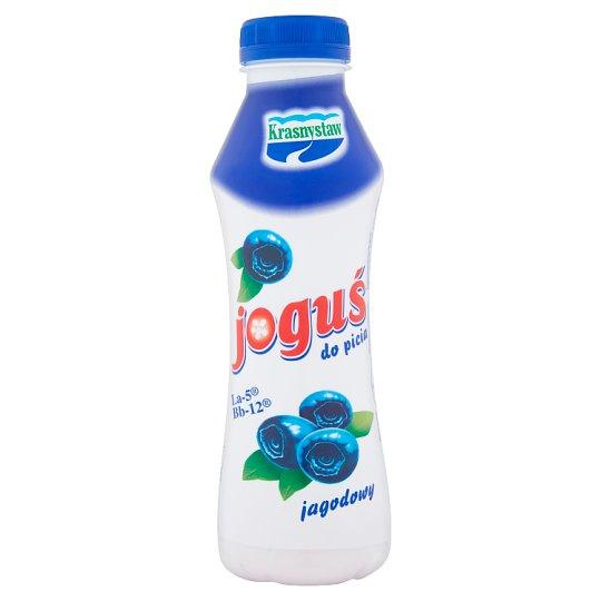 Krasnystaw Joguś Jogurt do picia jagodowy 350 g