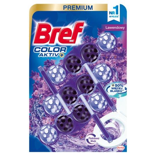 Bref Color Aktiv Lavender Toilet Rim Block 3 x 50 g
