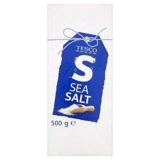 Tesco Sól morska spożywcza jodowana 500 g