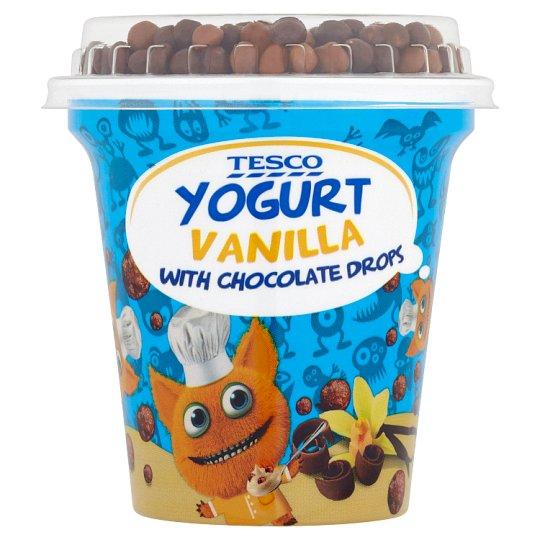 Tesco Yogurt Vanilla with Chocolate Drops 100 g + 7 g
