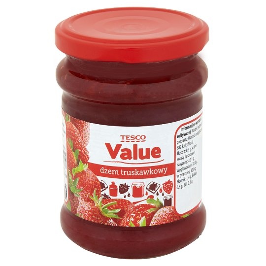 Tesco Value Dżem truskawkowy 270 g