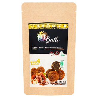 Fit Balls Hazelnut Coffee Cocoa Pasta with Dry Date Fruit 96 g