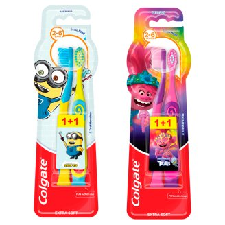 Colgate Toothbrush 2-6 Years Old Extra Soft 2 Pieces