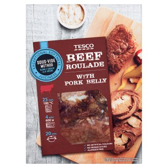 Tesco Slow Cooked Beef Roulade with Pork Belly 540 g