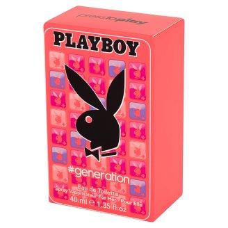 Playboy Generation Eau de Toilette 40 ml