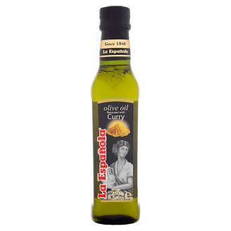 La Española Olive Oil Flavoured with Curry 250 ml
