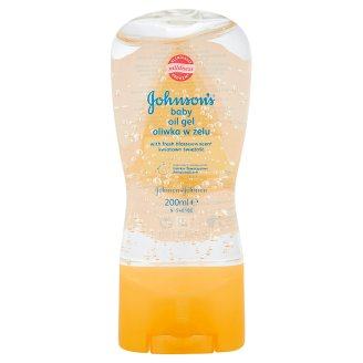 Johnson's Baby Oil Gel with Fresh Blossoms Scent 200 ml