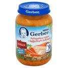 Gerber Obiadek Potrawka z ryżem i łagodnym indykiem po 9 miesiącu 190 g