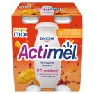 Danone Actimel Mango Goji Berry and Curcuma Flavoured Fermented Milk 400 g (4 x 100 g)