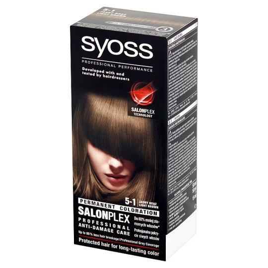 Syoss SalonPlex Hair Colorant Light Brown 5-1