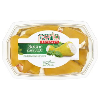 Perla Antipasti Green Peppers with Cheese 150 g