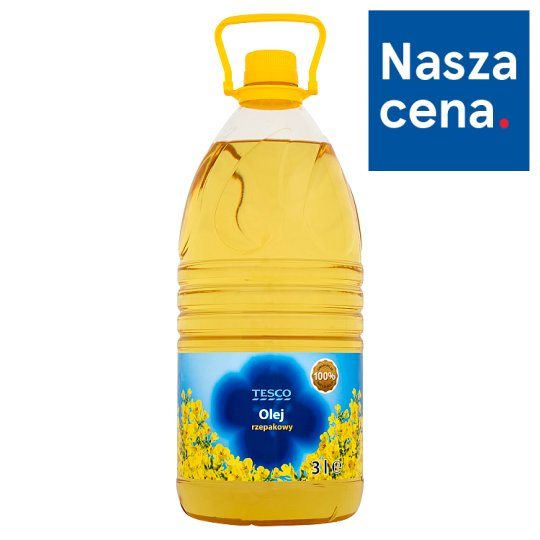 Tesco Rapeseed Oil 3 L