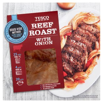 Tesco Slowly Cooked Beef Roast with Onion 500 g