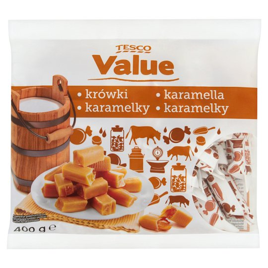 Tesco Value Krówki 400 g