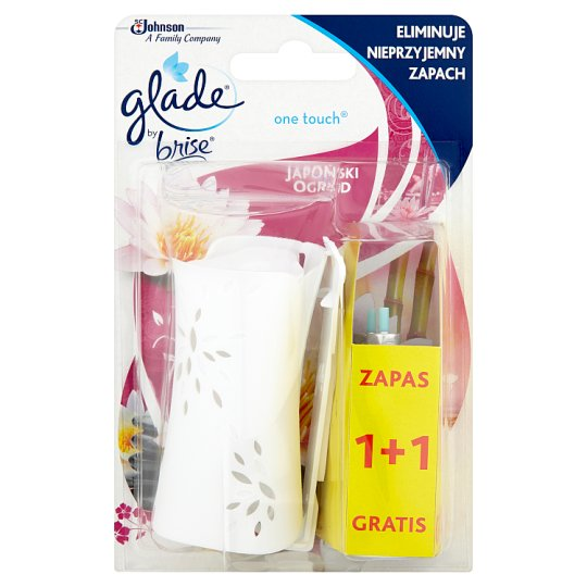 Glade by Brise One Touch Japanese Garden Concentrated Air Freshener 2 x 10 ml