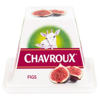 Chavroux Goat's Milk Curd Cheese with Figs 150 g