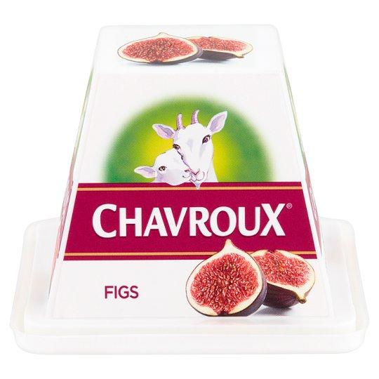 Chavroux Serek twarogowy z mleka koziego z figami 150 g