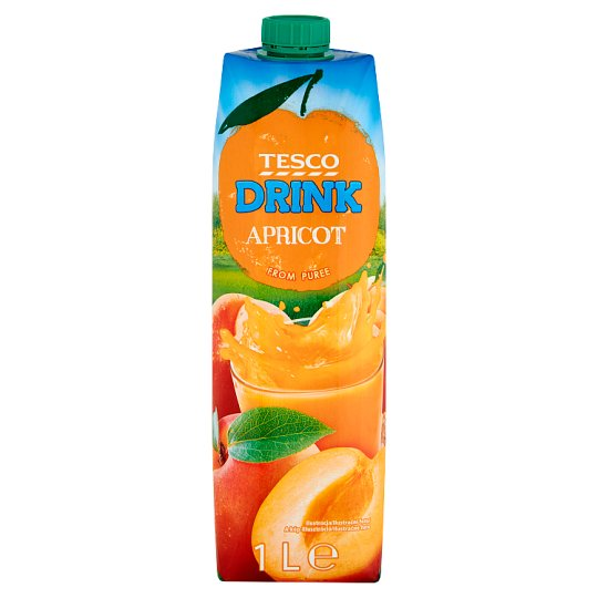 Tesco Apricot Drink 1 L