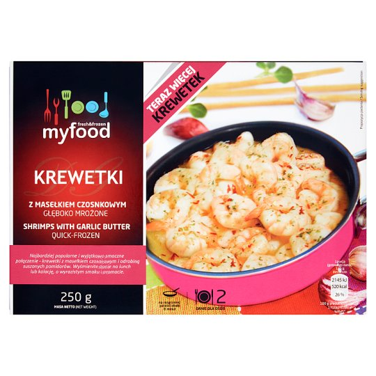 MyFood Shrimps with Garlic Butter 250 g