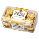 Ferrero Rocher Delicacy with Creamy Filling and Hazelnuts Topped in Chocolate with Hazelnuts 200 g