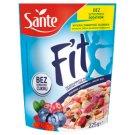 Sante Fit Pełnoziarniste płatki zbożowe z owocami żurawina & borówka & jagody goji 225 g