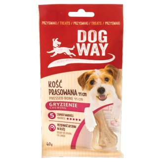 Dogway Chewing Pressed Bone 11 cm Delicacy for Dog 40 g