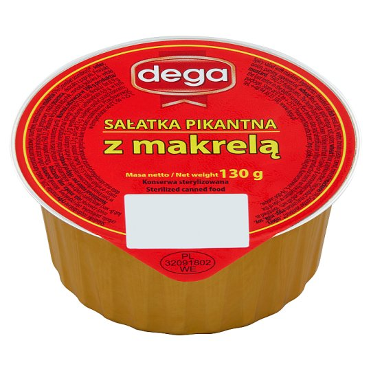Dega Spicy Salad with Mackerel 130 g