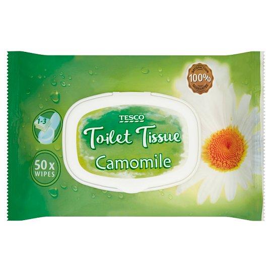 Tesco Camomile Toilet Tissue 50 Pieces