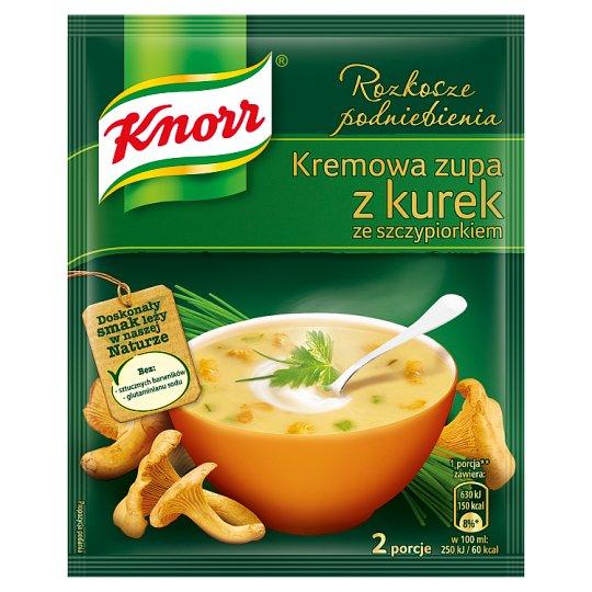 Knorr Rozkosze podniebienia Creamy Chanterelle Soup with Chives 59 g