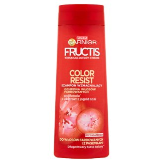 Garnier Fructis Color Resist Strengthening Shampoo for Dyed and Stained Hair 400 ml