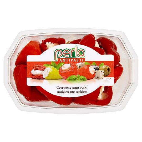 Perla Antipasti Czerwone papryczki nadziewane serkiem 150 g