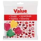 Tesco Value Lizaki o smaku owocowym 80 g