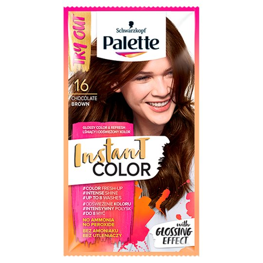 Palette Instant Color Coloring Shampoo Chocolate Brown 16 25 ml