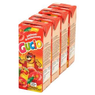 Gucio Napój jabłkowo-brzoskwiniowy 4 x 200 ml