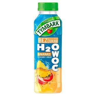 Tymbark H2Owoc Napój ananas truskawka jabłko 400 ml