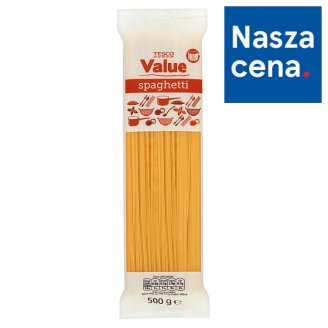 Tesco Value Spaghetti Pasta 500 g