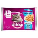 Whiskas 1+ lat Karma pełnoporcjowa potrawka w galaretce smaki rybne 340 g (4 x 85 g)