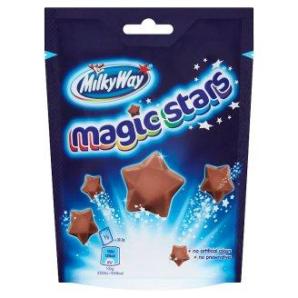 Milky Way Magic Stars Gwiazdki z puszystej mlecznej czekolady 91 g