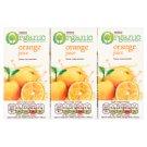 Tesco Organic Sok pomarańczowy z zagęszczonego soku 3 x 200 ml