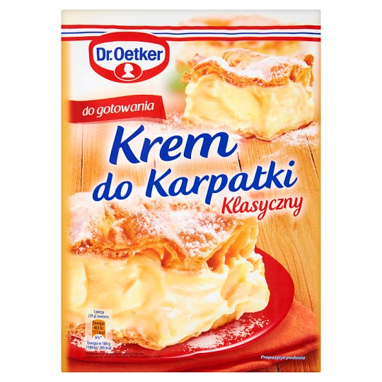 Dr. Oetker Traditional Pudding Cream 240 g
